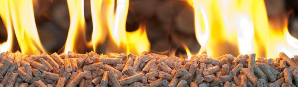 Predaj drevených peliet na kúrenie